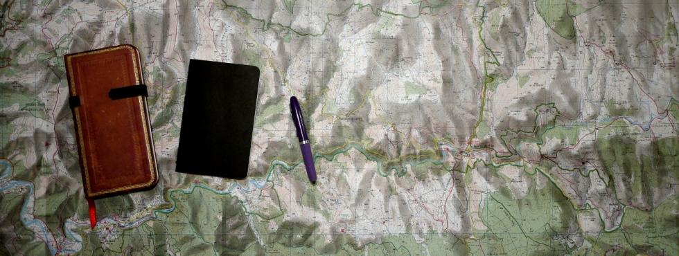 Carte et carnets de notes