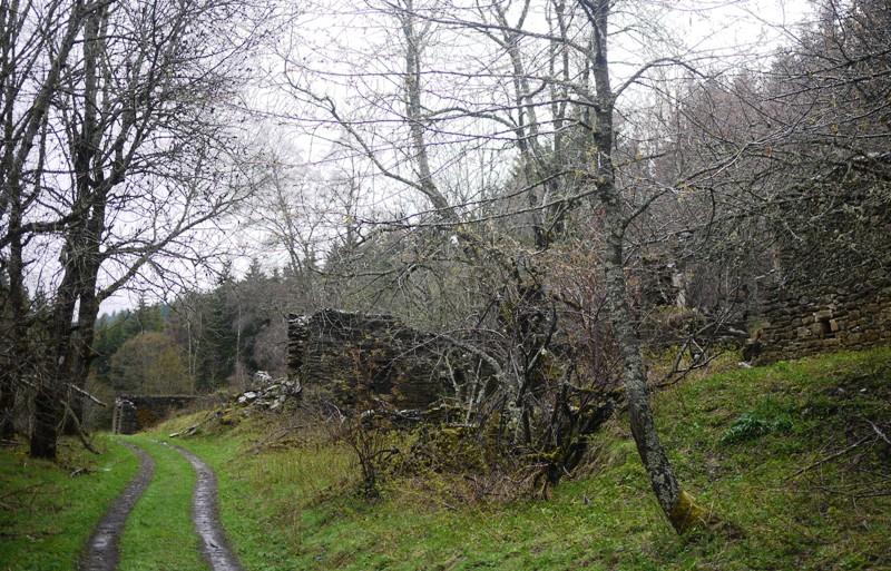 Le village fantôme de Serreméjean