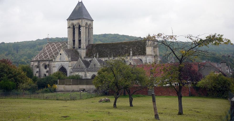 L'Église Notre-Dame de Vétheuil