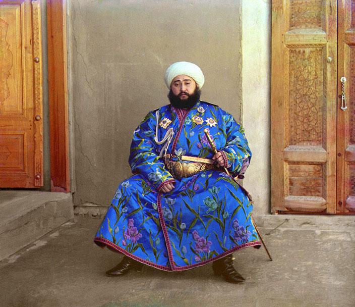 Mohamed Alim Khan, émir de Boukhara