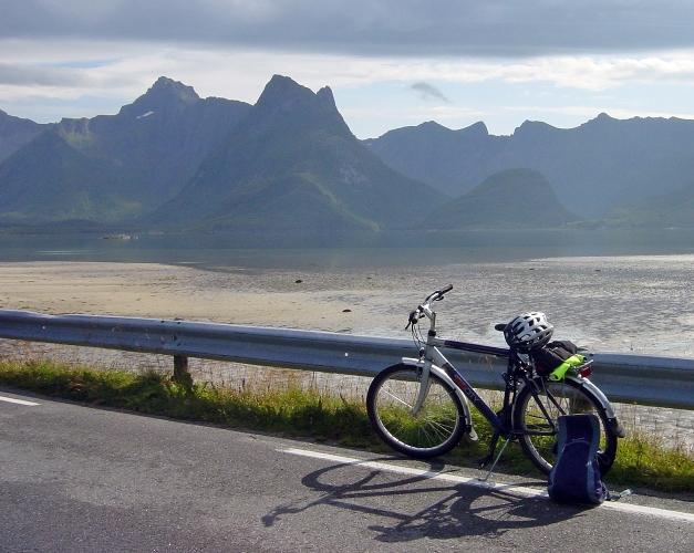 À vélo aux Lofoten