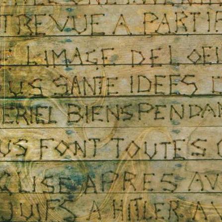 Le plancher de Jeannot (détail)