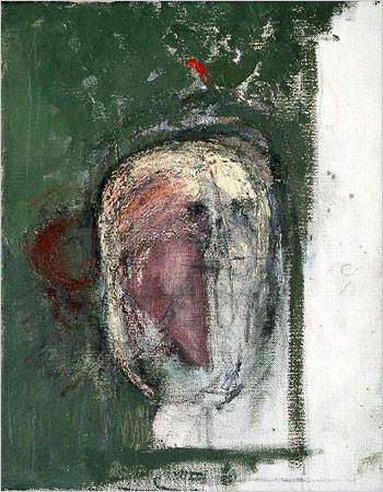 William Utermohlen — Autoportrait effacé (1999)