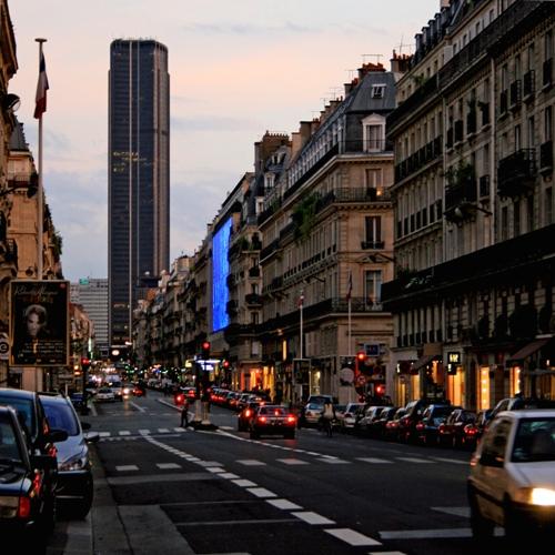 Paris, rue de Rennes
