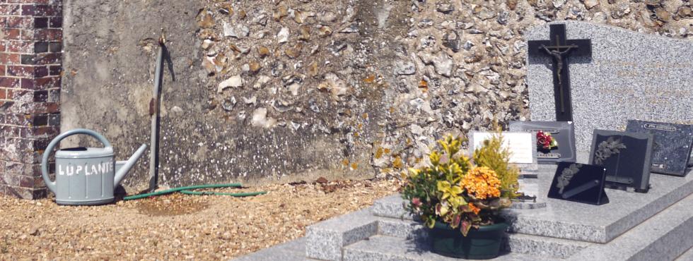 L'eau des cimetières