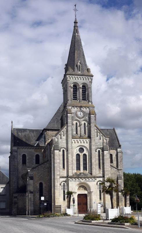 L'église de Villedieu-sur-Indre