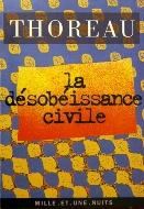 Henry David Thoreau — La désobéissance civile